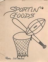 Sportin' Goods 1986 by D J Stevens Golf Hockey Football Soccer & More - $4.99