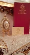Last One Fabergé style egg VINTAGE Trinket Box Photo frame Music Gift 24k Gold  - $499.00