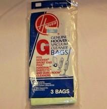 Hoover Vacuum Cleaner Bags Type G 4010008G 3 pack Fits Handivac Pixie Qu... - $5.82