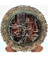 Fenton Carnival Glass Commemorative No.6 Plate American Craftsman Series... - $18.80