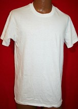 Vintage 80s HANES Basic Blank White Cotton Undershirt T-SHIRT L Single S... - $39.59