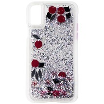 Case-Mate Waterfall Glitter Case for iPhone X 10 - Pink, Black, Silver G... - $21.99