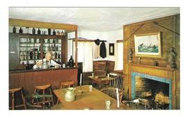 CT Mystic Seaport Taproom Interior Schaefers Souter Tavern Vintage Postcard - $4.99