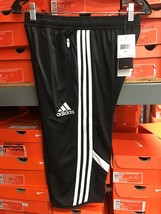 Adidas Youth CON 14 3/4 PNT Short 3/4 Adidas Size Youth Large - $34.65