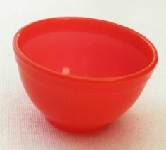 Vintage Banner Plastics Corp. Teen Doll Pyrex Small Red Mixing Bowl   24... - $38.00