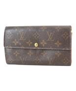 Authentic LOUIS VUITTON Sarah Long Wallet Monogram Zippered Coin Purse #... - $130.50