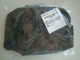 USMC MARINE CORPS WOODLAND MARPAT CAMO CAMOUFLAGE WATERPROOF DOPP SHAVIN... - $16.82