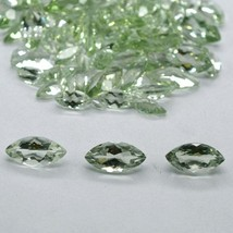 Wholesale 7x14mm Marquise Cut Natural Green Amethyst Loose Calibrated Ge... - $13.67+