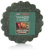 Yankee Candle Scented Tart - Aromatic Orange & Evergreen - Bundle of 6 T... - $18.00