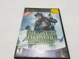 Medal of Honor: Frontline (Microsoft Xbox, 2002) Complete CIB VG - $2.58