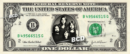 PINK FLOYD on REAL Dollar Bill Cash Money Bank Note Currency Dinero Cele... - $7.77