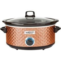 Brentwood Appliances 7-quart Slow Cooker (copper) BTWSC157C - $52.19