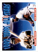 1993 Topps #407 Barry Bonds Joe Carter AS - $2.95
