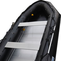BRIS 1.2mm PVC 12.5 ft Inflatable Boat Inflatable Rescue & Dive Boat Raft image 11