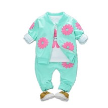 2019 Spring Autumn Children Girls Fashion Clothes Baby Smile Face Jacket... - $19.80