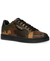 Men's Michael Kors Keating Camo Printed Fashion Sneakers MSRP $168 Size ... - $109.95
