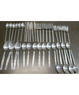 National Stainless Flatware Costellano 41 pieces total - $59.29