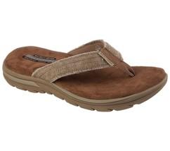 Men's Skechers Relaxed Fit: Supreme - Bosnia Sandals, 64152 /TAN Multipl... - $49.95