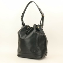 Auth Louis Vuitton Black Epi Noe Shoulder Bag GOOD #01M263 MPRS - $672.21