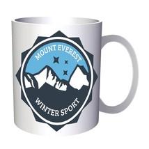 Mount everest, winter sport, camping 11oz Mug v280 - $10.83