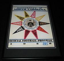 1928 North Carolina Football Framed 10x14 Poster Official Repro - $32.36