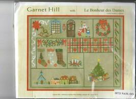 Garnet Hill Holiday Sampler Christmas 18721 Le Bonheur des Dames Kit Sealed - $53.46