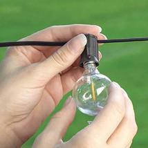 Mr Beams 1W G40 Globe Bulb LED Weatherproof Indoor/Outdoor String Lights, 50 fee image 7
