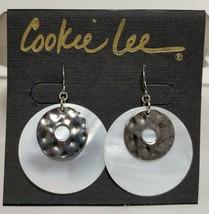 Cookie Lee Genuine Shell Earrings Dangle Summer Beach Boho Gypsy  - $10.89