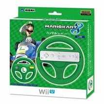 Nintendo Wii U Hori Mario Kart 8 Griff Lenkrad Controller Luigi - $29.37