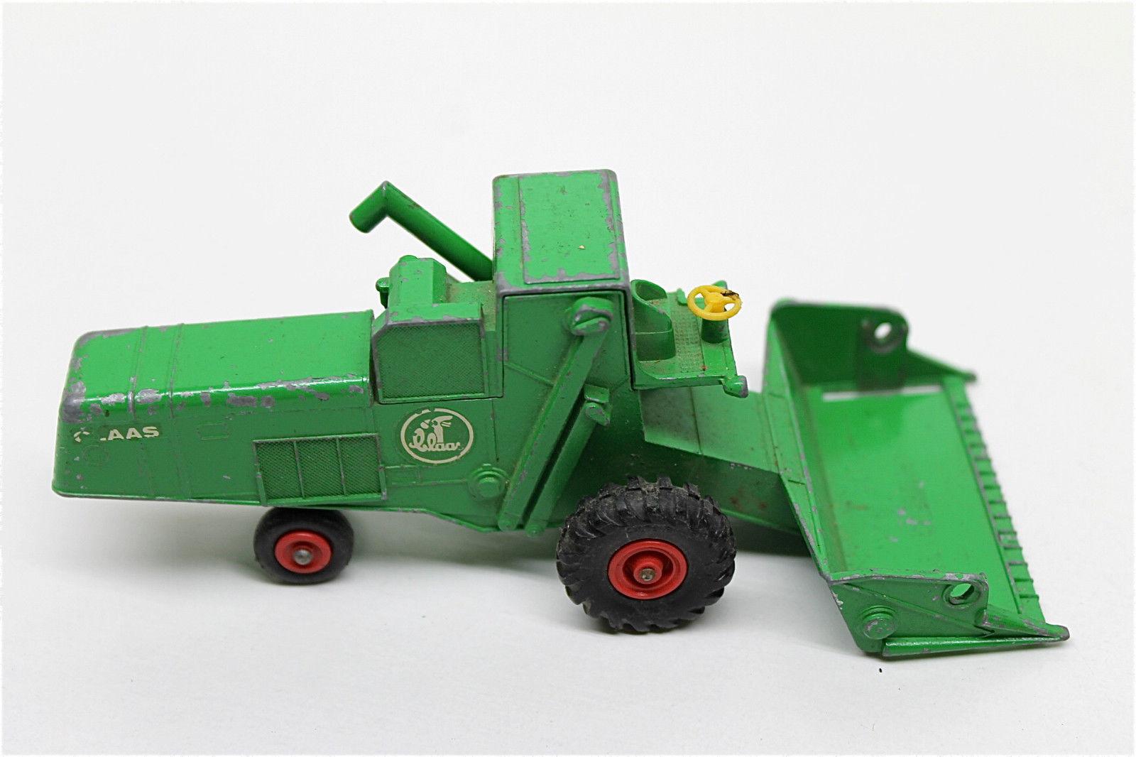 Vintage Matchbox Class Combine Harvester King Size  K-9 Lesney Die Cast Farm