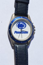 PENNSTATE Sportivi  Mans Vintage 1990's Leather Watch ''Plays Pennstate ... - $13.98