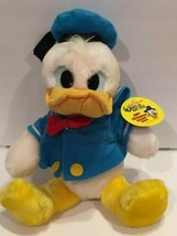 Vintage Donald Duck Disney World On Ice Plush 50th Birthday Productions Tag 1984 - $23.36