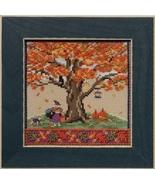 Fall Oak 2017 Quartet Mighty Oak tree series cross stitch kit  Mill Hill - $15.30