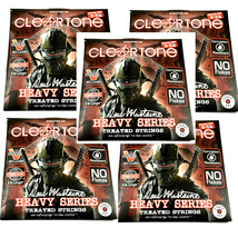 Cleartone Guitar Strings 5-Sets Electric Dave Mustaine Signature 09-52 - $94.95