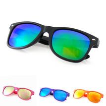 Occhiali da Sole Retrò Vintage Uomo Donna Occhiali Colore Telaio Nerd EE... - $4.44+