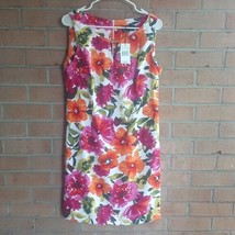 New RONNI NICOLE dress sz 12 Floral spring summer beautiful party - $16.93