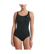 Nike Solid Epic Racerback One-Piece, Black, Small - $56.40