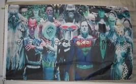 DC Most Powerful Villains 3'x5' banner Flag DC Comics joker USA Shipper - $25.00