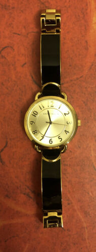 Primary image for New Anne Klein Women's Easy-to-Read Two-Tone Bangle Watch AK/1606