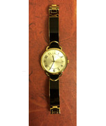 New Anne Klein Women's Easy-to-Read Two-Tone Bangle Watch AK/1606 - $19.80