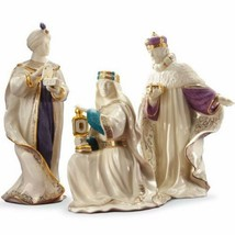 Lenox First Blessing Nativity Three Kings Figurines 3 Wise Men Christmas... - $257.40