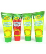 Crayola Kids Bathtub Finger Paint Soap (4 Pack)- (3x)Electric Lime Green... - $14.82