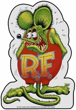 Rat Fink Full Body Plasma Cut, Big Daddy Ed Roth Metal Sign - $55.00