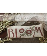 Bloom Where You're Planted cross stitch chart With Thy Needle Brenda Ger... - $10.80