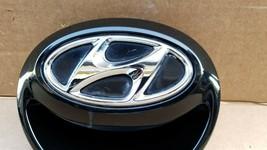 12-16 Hyundai Veloster Rear Hatch Handle Tailgate Emblem image 2