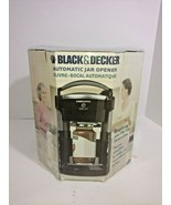 NEW Black & Decker Lids Off Automatic Jar Opener JW200B Black JW200 - $98.01