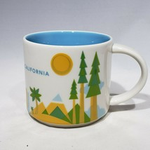 Starbucks You Are Here California Oversized Coffee Mug 14 oz 2015 - $16.95