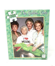 The Golden Girls I Heart Miami - 1000 Piece USAopoly Jigsaw Puzzle New! - $18.14