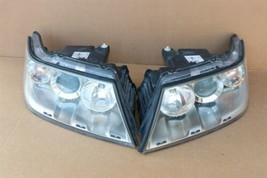 05-09 Saab 9/7X 9-7X 97x Halogen Headlight Head Light Lamp Matching Set L&R image 1