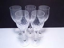 5 Mikasa Glade Wine Stems ~~ - $26.99
